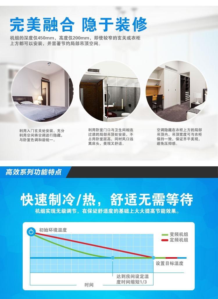 格力卧室独立家用中央空调